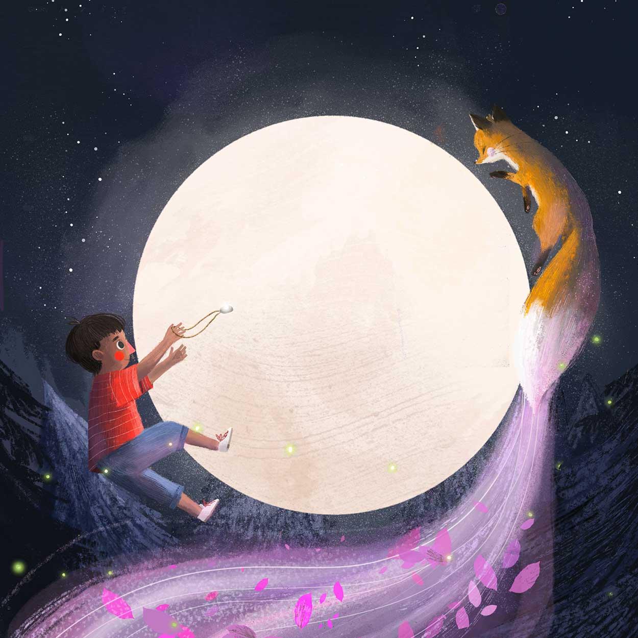 KITCHI: THE SPIRIT FOX Illustration