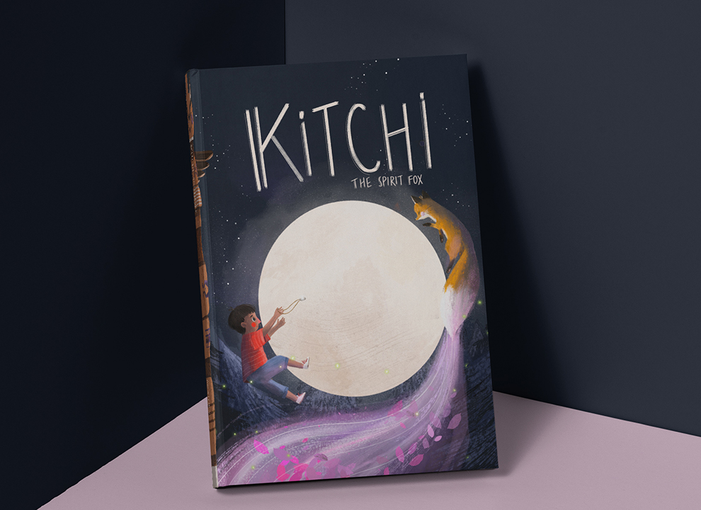 Kitchi The Spirit Fox Book