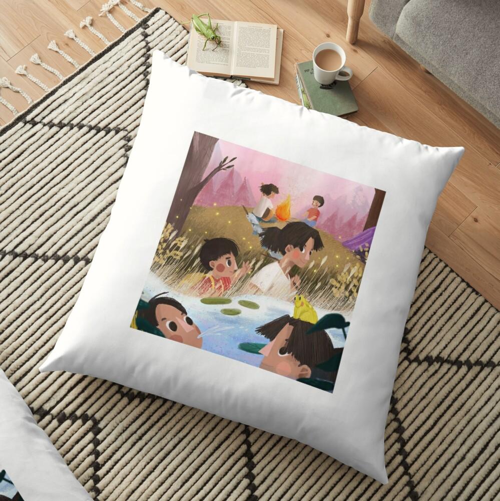 Kitchi Throw Pillow