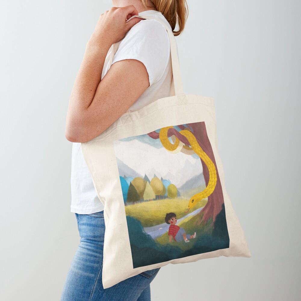 Kitchi: The Spirit Fox - Magical Moon Tote Bag