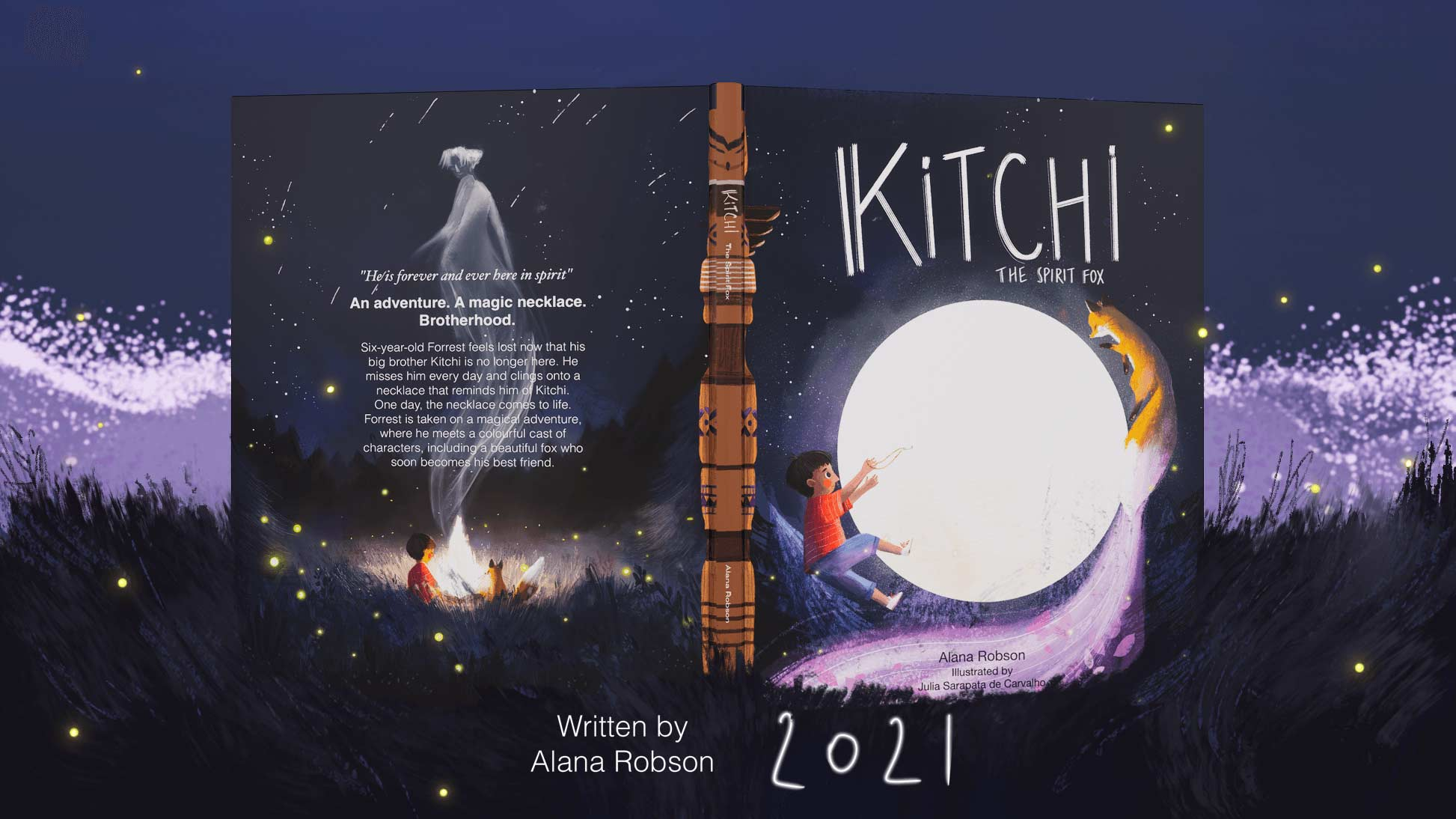 Kitchi The Spirit Fox Cover