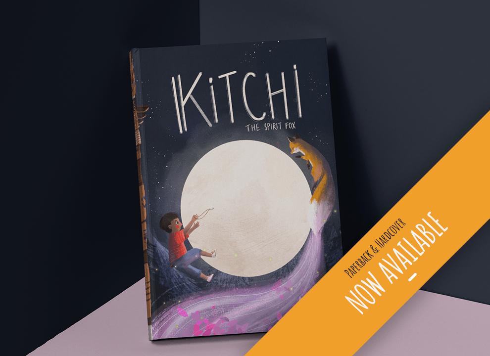 Kitchi The Spirit Fox Book